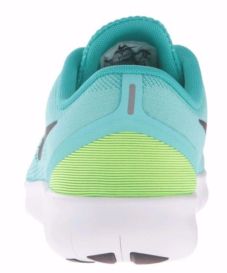 Nike RN GS Run Green Black Kids Junior Running Shoes SNEAKERS 833993-300  3.5 Y   eBay