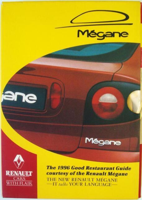 THE 1996 GOOD RESTAURANT GUIDE COURTESY OF THE RENAULT MEGANE ISBN:0749511141