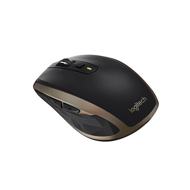 Logitech MX Anywhere 2 Wireless Maus  Windows/Mac (Bluetooth, Unifying) schwarz