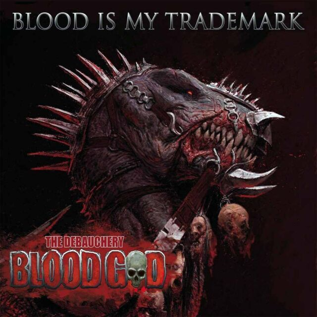 Blood God - Blood Is My Trademark [LP][rot]