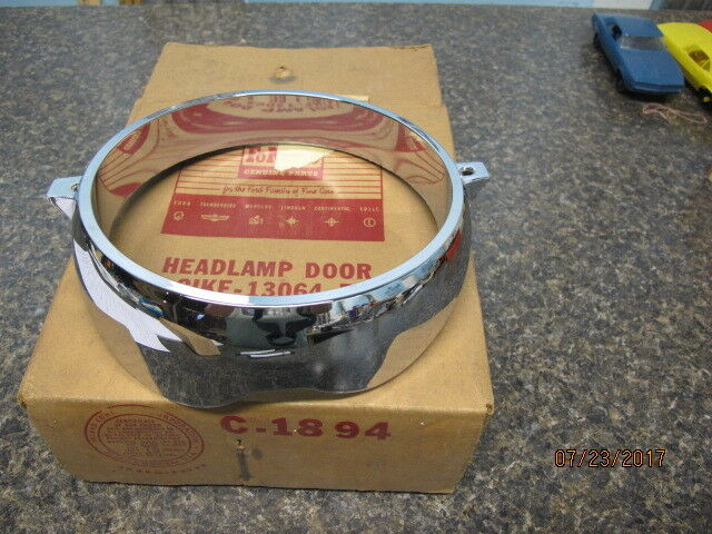 & 1961 nos mercury headlight door assembly C1KF 13064 B | eBay