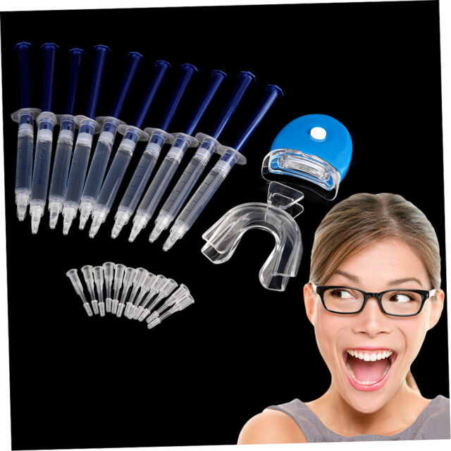 10 Pieces White Teeth Tooth Whitening Whitener Bleaching Professional Kit  FE