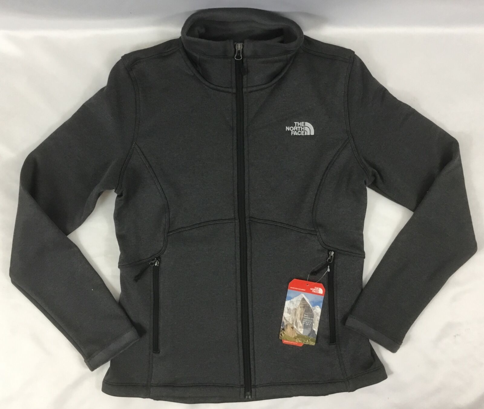 The North Face Womens Agave Full Zip Jacket Black Size S ...