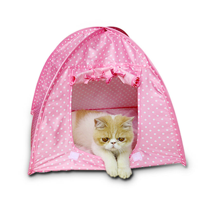 Picture 2 of 2  sc 1 st  eBay & Waterfproof Foldable Pet Puppy Dog Kitten Cat Tent Kennel Bed Nest ...