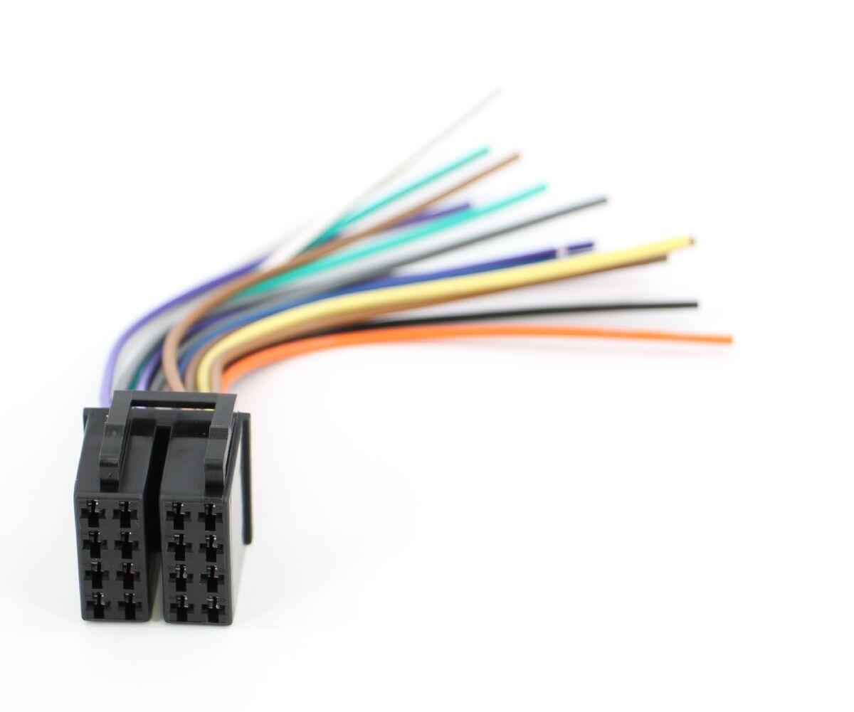 xtenzi 16 pin radio wire harness for pyle pldn72bt pldn70u ebay rh ebay com Pyle Electronics Pyle Car Audio
