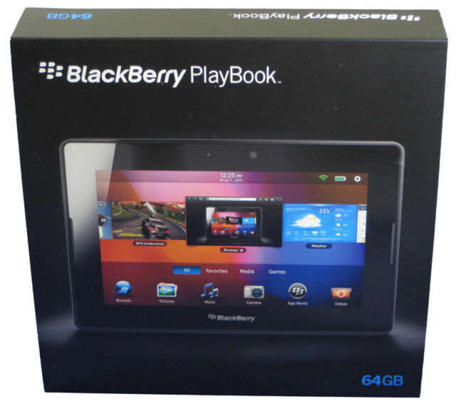 """NEW IN BOX-64GB BlackBerry 7"""" PlayBook Tablet WiFi PRD-38548-003 P100-64WF NA US"""