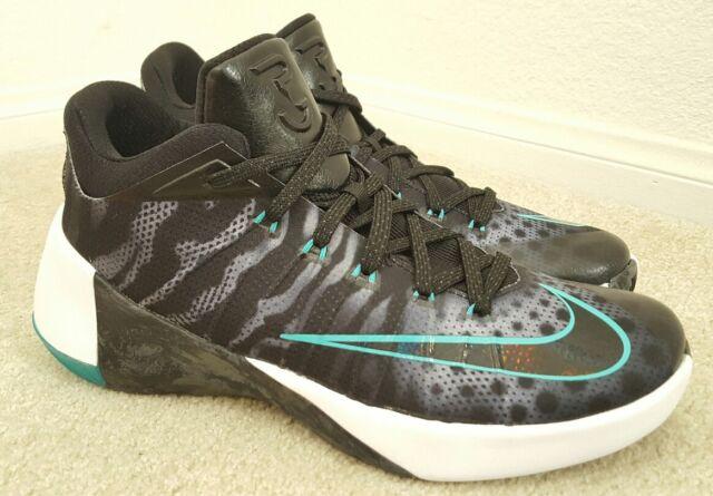 New Nike Hyperdunk 2015 Low Mens Sz 11 Basketball Shoes Black 803174  White 126