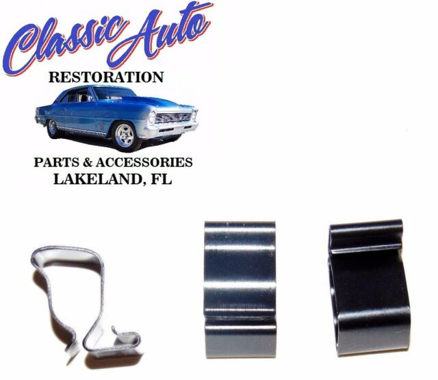 s l640 new firewall wiring harness clips (3) nova chevy 2 62 63 64 65 66 67 Chevy 2 Nova at panicattacktreatment.co