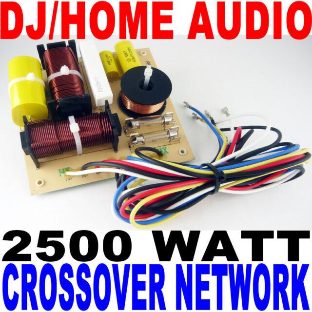 2500 Watt Dj/home Audio Crossover Network 3-way | eBay