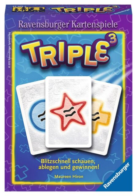 Ravensburger Triple 3 Kartenspiel