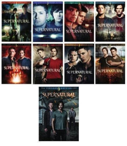 Lucifer Season 4 Dvd Boxset Freeshipping: Supernatural: Seasons 1-5 (DVD, 2011, 29-Disc Set)