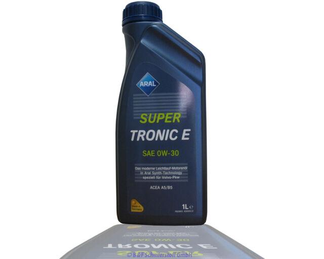 Aral Super Tronic E 0W30 1 Liter Dose Motoröl ACEA A5/B5 Volovo Honda