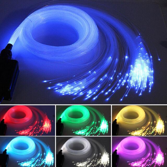 chinly 16w rgbw 28key rf remote led fiber optic star ceiling light