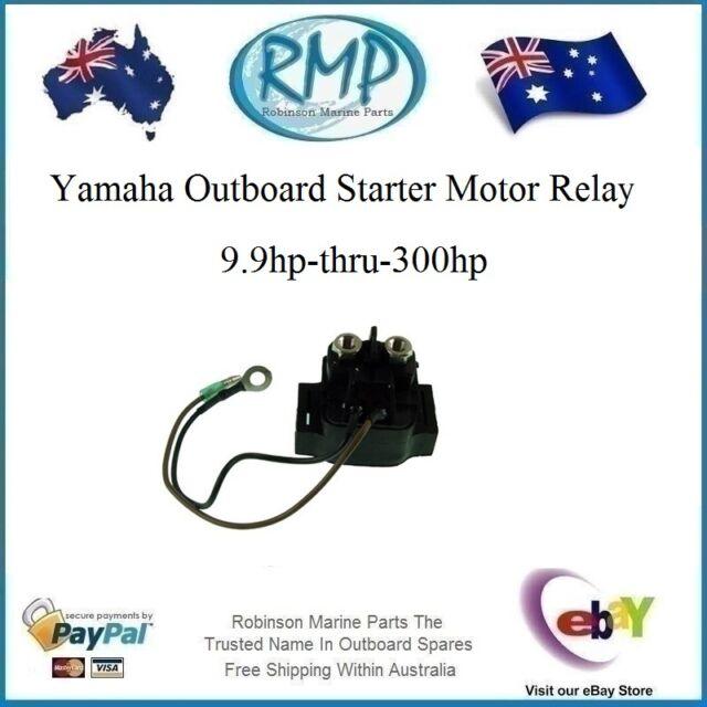 1x Brand New Universal Yamaha Starter Relay 9.9hp-thru-300hp # R 68N-81940-00