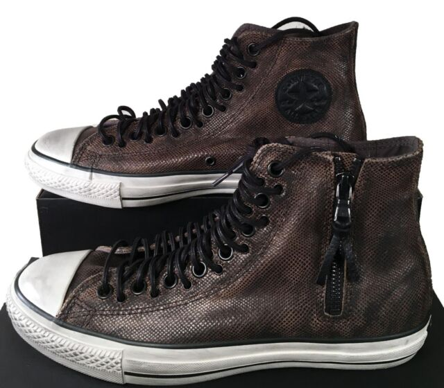 Converse by John Varvatos Chuck Taylor Multi Lace Brown Leather Sneaker  150165C
