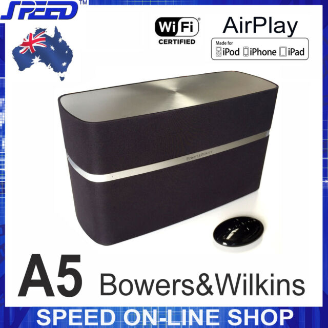 Bowers & Wilkins B&W A5 Wireless AirPlay Speaker for iPhone4/5/6/7/8/X/iPod/iPad