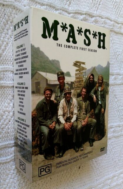 MASH - THE COMPLETE SEASON 1-DVD, 3-DISC BOX SET, R-4, LIKE NEW, FREE SHIPPING
