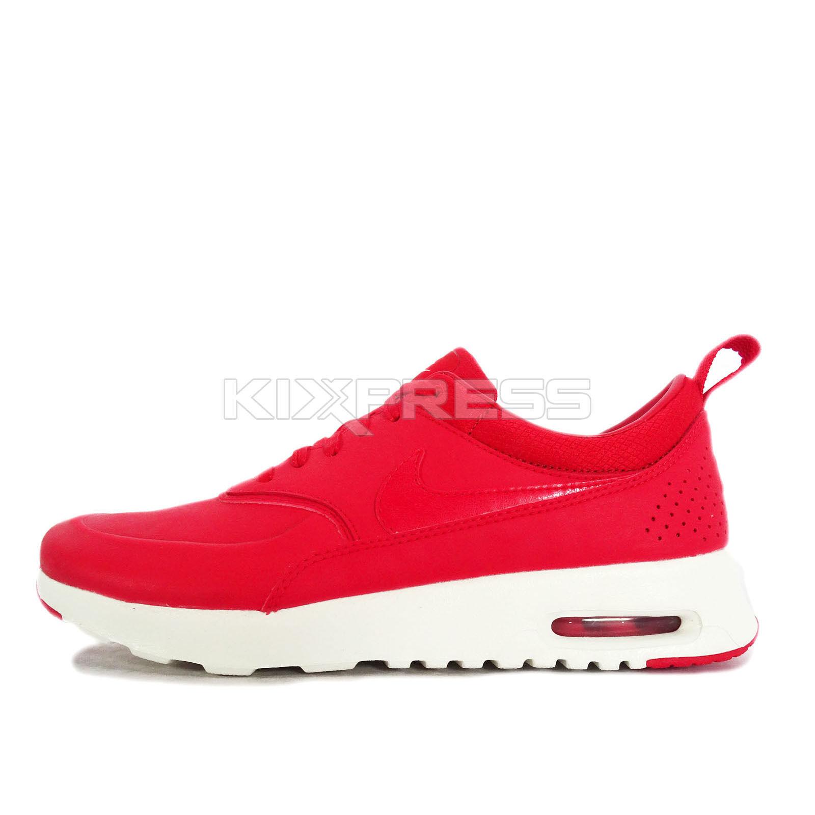 WMNS Nike Air Max Thea PRM [616723-602] NSW Casual Red/Sail-White
