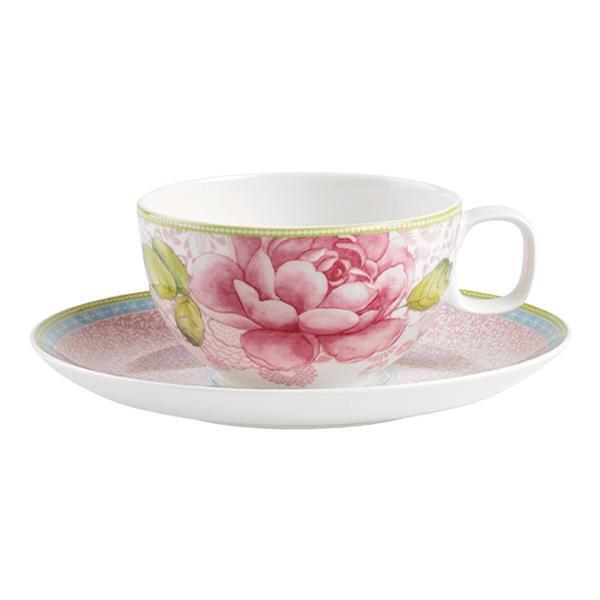 Villeroy & Boch - Porzellan - Rose Cottage  Teetasse 2-tlg. pink 0,39L - neu