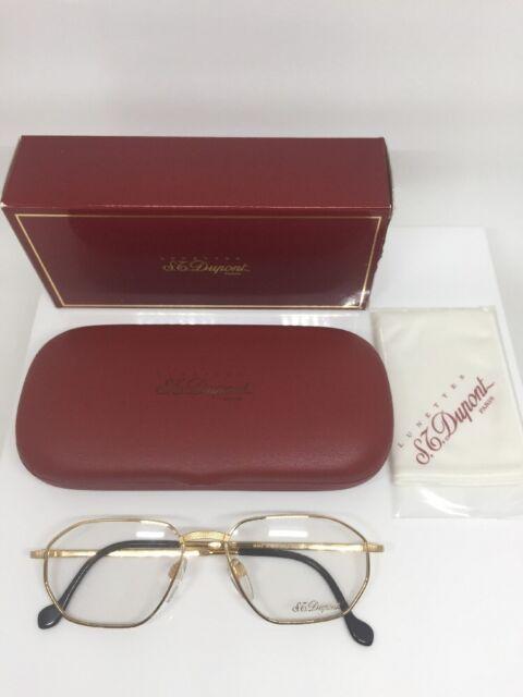 St Dupont D059 Eyeglasses Frames 23 Karat Gold Plated V 6050 Made in ...