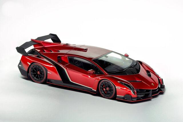Kyosho Lamborghini Veneno Red Metallic - Red Line 1/18