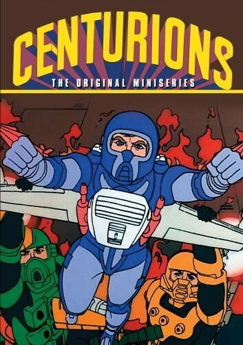 CENTURIONS: THE ORIGINAL MINISERIES (1986)  Region Free DVD - Sealed