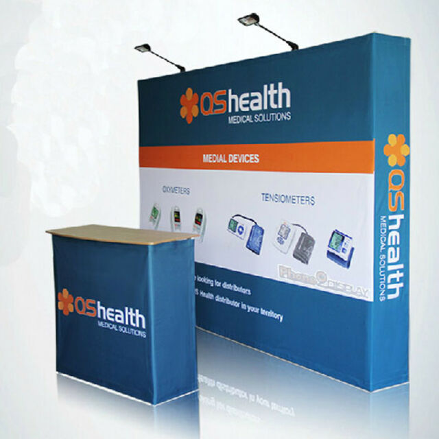 Trade Show Booth Backdrop : Ft tension fabric pop up display trade show booth