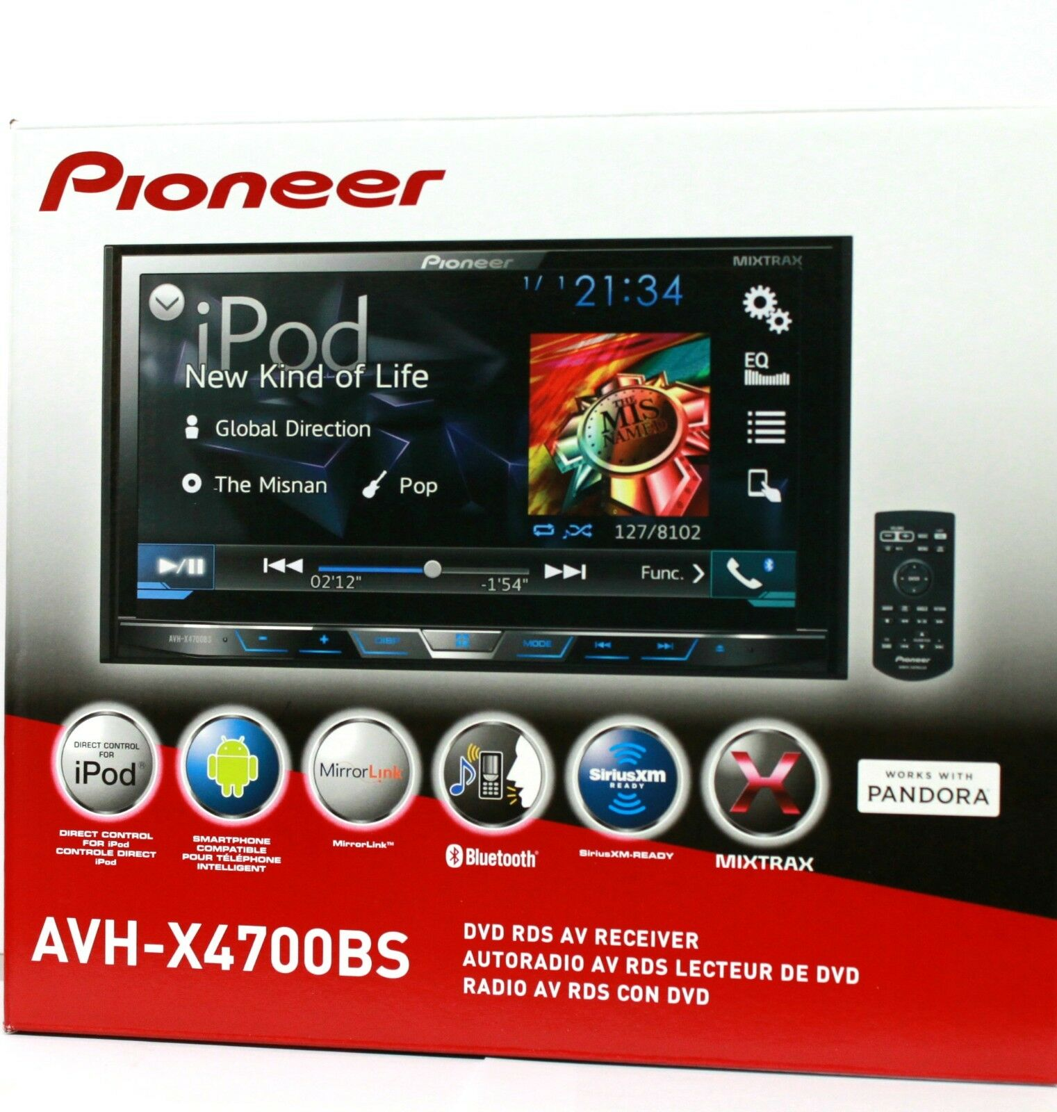 s l1600 pioneer double din 7 ebay Wire Harness Assembly at soozxer.org