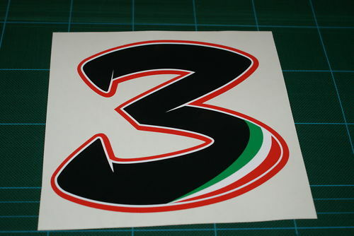 Max biaggi no3 race number large ebay max biaggi no3 race number large altavistaventures Gallery