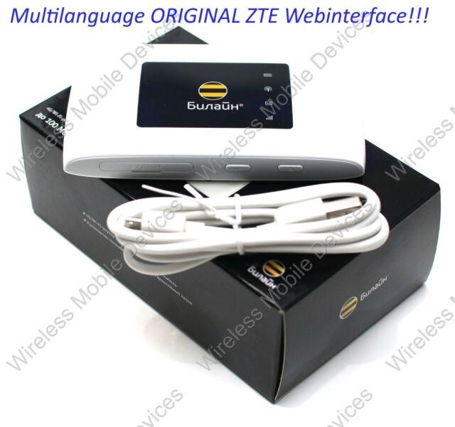 4g ZTE MF920 LTE Mobile WiFi Wireless Hotspot Router Modem ...