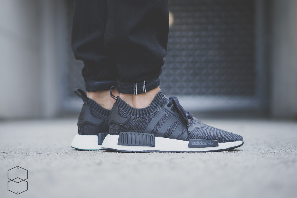 adidas NMD R1 Gets Hit With a Glitch Camo Core Black