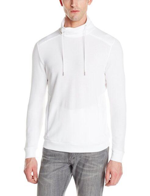 Calvin Klein Men\'s Long Sleeve Pull Over Knit White Large 40TK261 | eBay