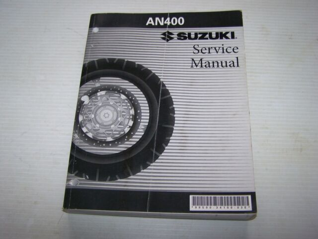 oem suzuki service maintenance shop repair manual book skywave rh ebay com suzuki burgman an 400 service manual suzuki burgman an 400 service manual pdf