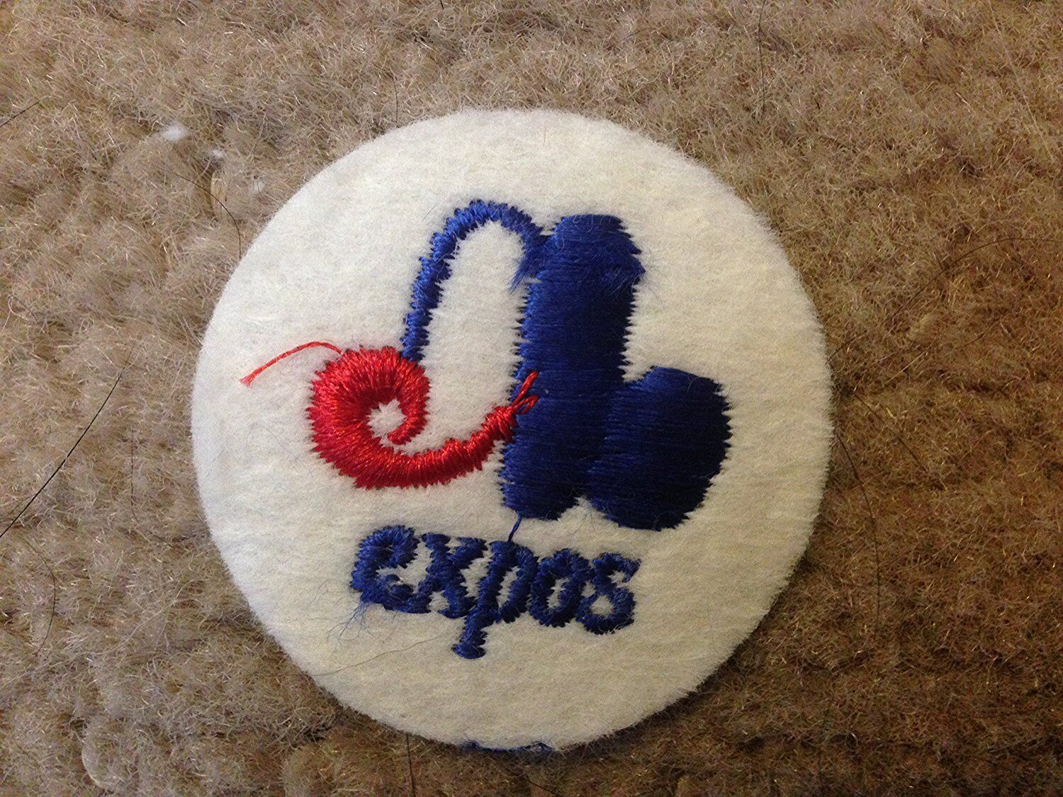 1970 Vintage Montreal Expos Iron On Patch 2 Circles Old Stock Ebay