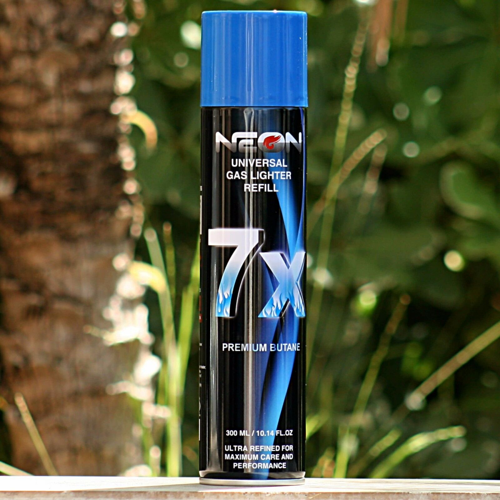 NEON 7x Butane Gas for Torch Lighter 300ml - Cigar Jet Refill ... for Torch Lighter Refill  66plt