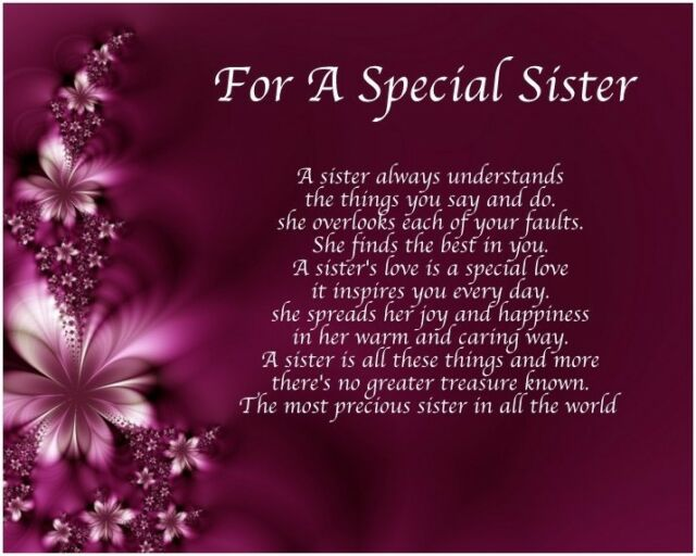 Personalised Special Brother Poem Word Art 40 50 60 65th Birthday Gift Present | eBay