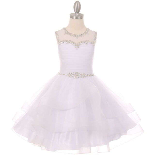 Lilac flower girl dress party bridesmaid graduation dance prom picture 2 of 2 mightylinksfo