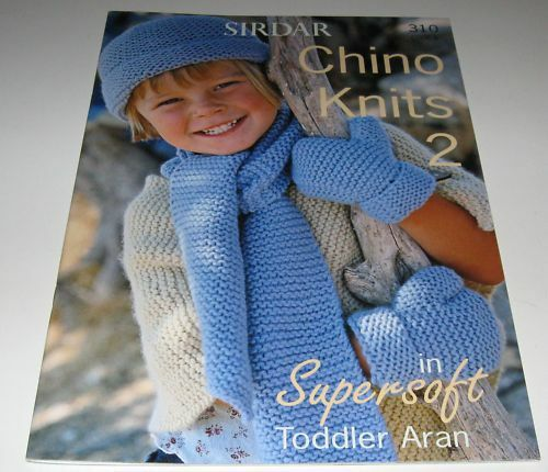 Sirdar Chino Knits Children Knitting Pattern Book 310 With 10