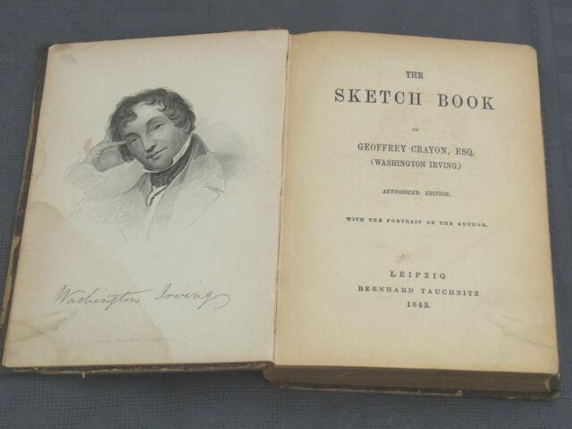 The sketch Book of Geoffrey Crayon(Washington Irving) 1843 Leipzig