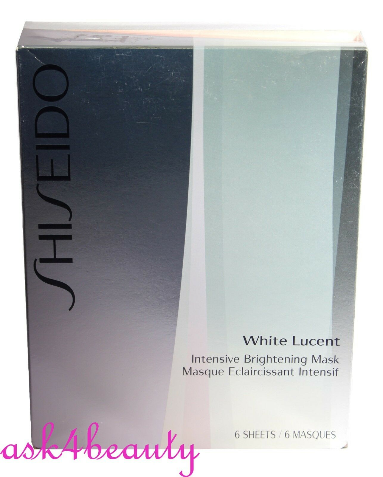Shiseido Cleanser 6pcs White Lucent Intensive Brightening Mask For Naturgo Mud Picture 1 Of 3