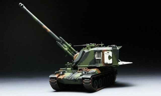 Meng - French AUF1 155mm Self-Propelled Howitzer 1/35 Tank France TS-004 Panzer