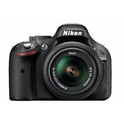 Nikon D5200 with 18-55mm VR Lens