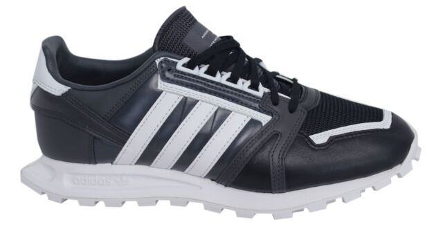 adidas wm racing 1 merletto bianco nero sintetico mens formatori