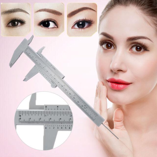 Measure Vernier Caliper Ruler For Permanent Makeup Tattoo Eyebrow