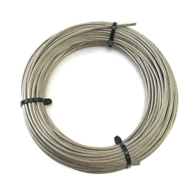 Stainless Steel Aircraft Cable 1/8\