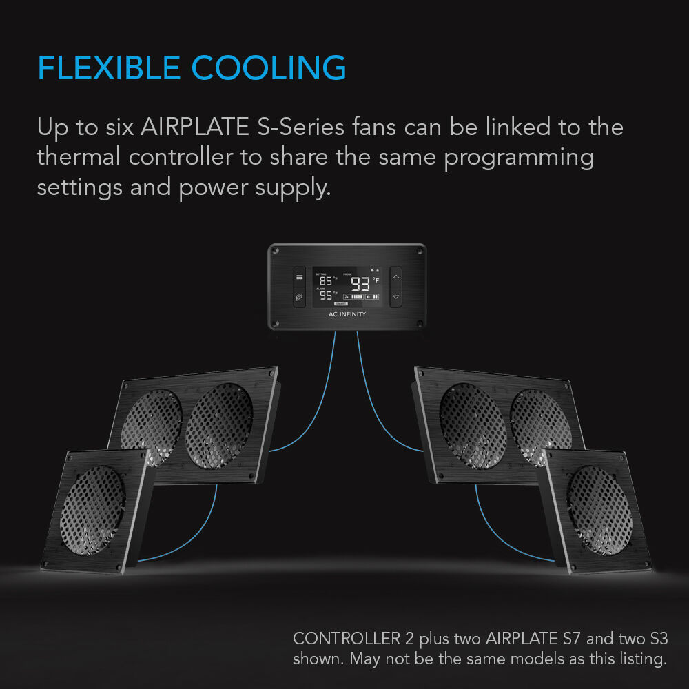 AC Infinity Ai Atc Fan Thermostat And Speed Controller For Home ...