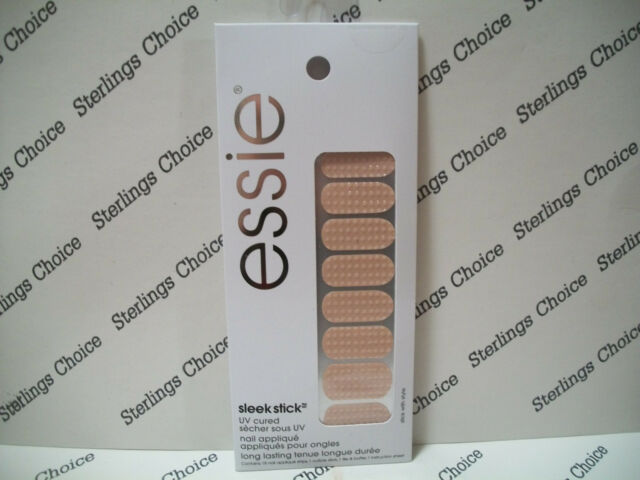 essie Sleek Stick Nail Appliques UV Cured Strips Stick With Style 18 ...