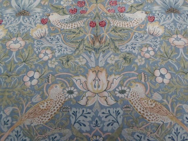 William Morris Amp Co Curtain Fabric Strawberry Thief 2