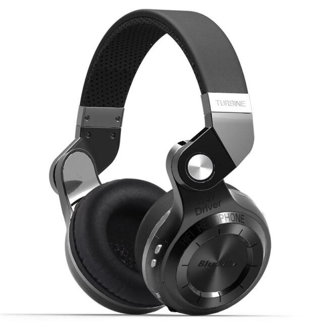 Neuf Bluedio T2S Casque Bluetooth Sans fil Stéréo Écouteur avec Microphone Noir