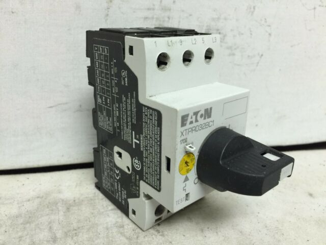 Eaton XTPR032BC1 Manual Motor Protector Rotary Type Frame B Class 10 ...